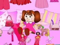 Флеш игра Гостиная в розовых тонах