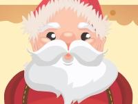 Флеш игра Готовим Деда Мороза к Новому Году
