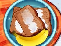 Флеш игра Готовим банановый хлеб
