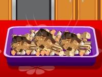 Флеш игра Готовим бараньи отбивные с жареными овощами