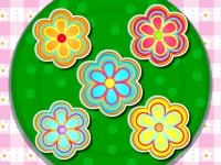 Флеш игра Готовим цветочное печенье