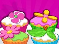 Флеш игра Готовим цветочные кексы
