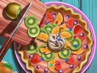 Флеш игра Готовим фруктовый пирог