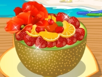 Флеш игра Готовим фруктовый салат