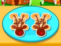 Флеш игра Готовим имбирное печенье