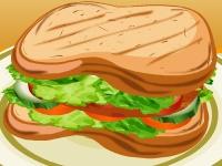 Флеш игра Готовим куриный сэндвич