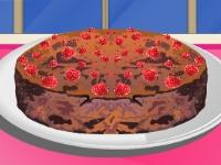 Флеш игра Готовим малиновый торт