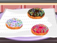 Флеш игра Готовим пончики