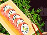 Флеш игра Готовим суши: Филадельфийский ролл