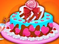 Флеш игра Готовим торт-мороженое