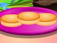 Флеш игра Готовим утренние булочки
