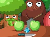 Флеш игра Готовим яблочный штрудель