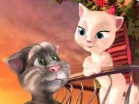 Флеш игра Говорящая кошка Анжела