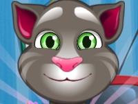 Флеш игра Говорящий кот Том на Новый Год
