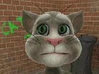 Флеш игра Говорящий кот Том
