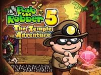 Флеш игра Грабитель Боб 5: Приключения в храме