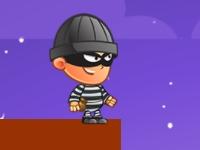 Флеш игра Грабитель на крыше