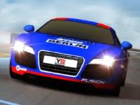 Флеш игра Гран-При на спорткарах