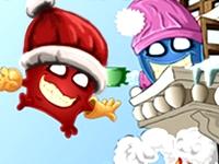 Флеш игра Гремлины пожарные: Рождественский выпуск