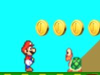 Флеш игра Грибное приключение Марио