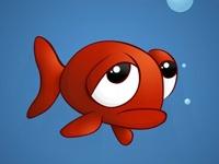 Флеш игра Грустная маленькая рыбка: Пазл