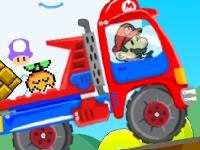Флеш игра Грузовик Марио 2