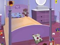 Флеш игра Грязная детская комната