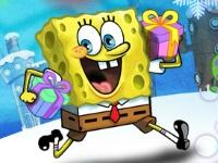 Флеш игра Губка Боб: Доставка подарков