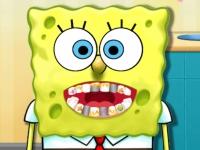 Флеш игра Губка Боб у дантиста
