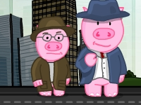 Флеш игра Хамбо - воинственный свин 2