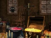 Флеш игра Хэллоуин: Скрытые предметы