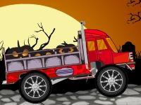 Флеш игра Хэллоуинский грузовик