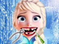 Флеш игра Холодное сердце: Эльза у стоматолога