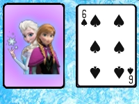Флеш игра Холодное сердце: Пасьянс