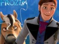 Флеш игра Холодное сердце: Принц Ханс и конь