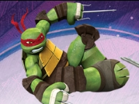 Флеш игра Хорошо ли ты знаешь черепашек-ниндзя?