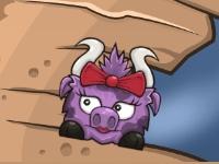 Флеш игра Храбрый бык