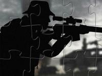 Флеш игра Храбрый солдат: Пазл