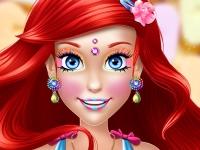 Флеш игра Идеальный макияж для Ариэль