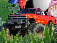 Флеш игра Игрушечный грузовик монстр