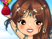 Флеш игра Индийская принцесса
