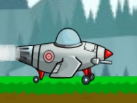 Флеш игра Испытания на самолете