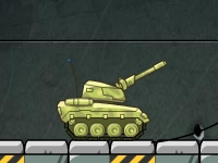 Флеш игра Испытания на танке