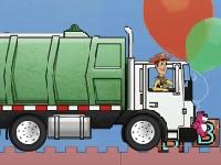 Флеш игра История игрушек: водитель грузовика