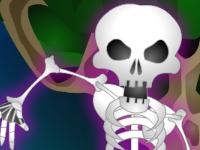 Флеш игра Истребитель скелетов
