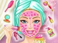 Флеш игра Качественный макияж для Барби