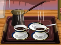 Флеш игра Как приготовить турецкий кофе