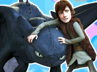 Флеш игра Как приручить дракона: Пазл