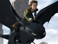Флеш игра Как приручить дракона: Слайд-Пазл