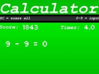 Флеш игра Калькулятор